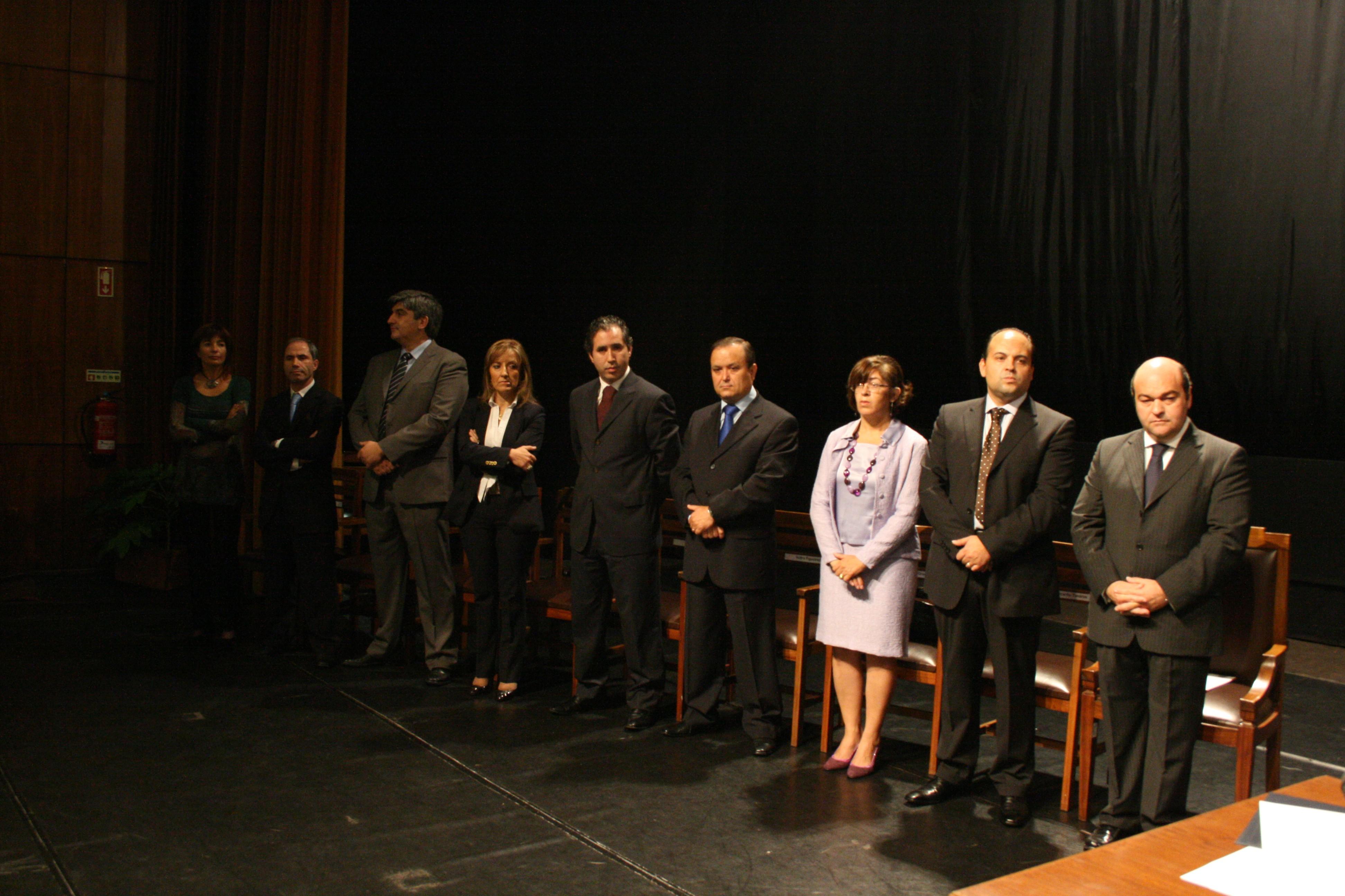 O novo executivo da Câmara Municipal de Oliveira de Azeméis