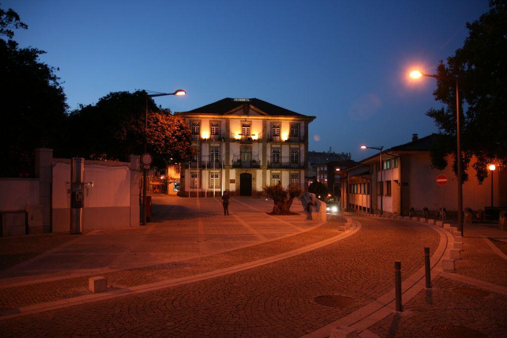 Largo da República, no centro da cidade de Oliveira de Azeméis