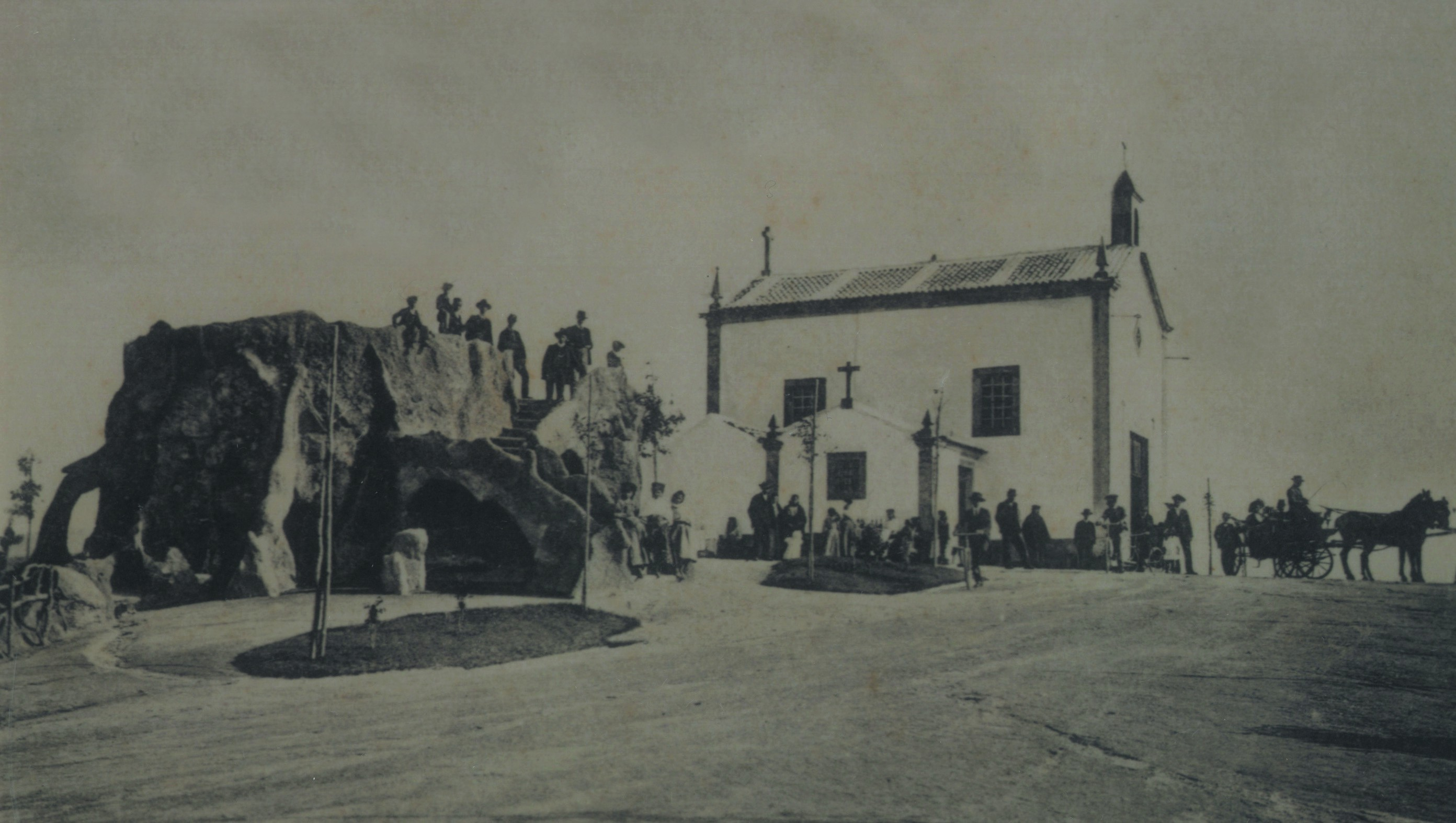 Parque de La Salette, gruta e ermida (Anos 10)