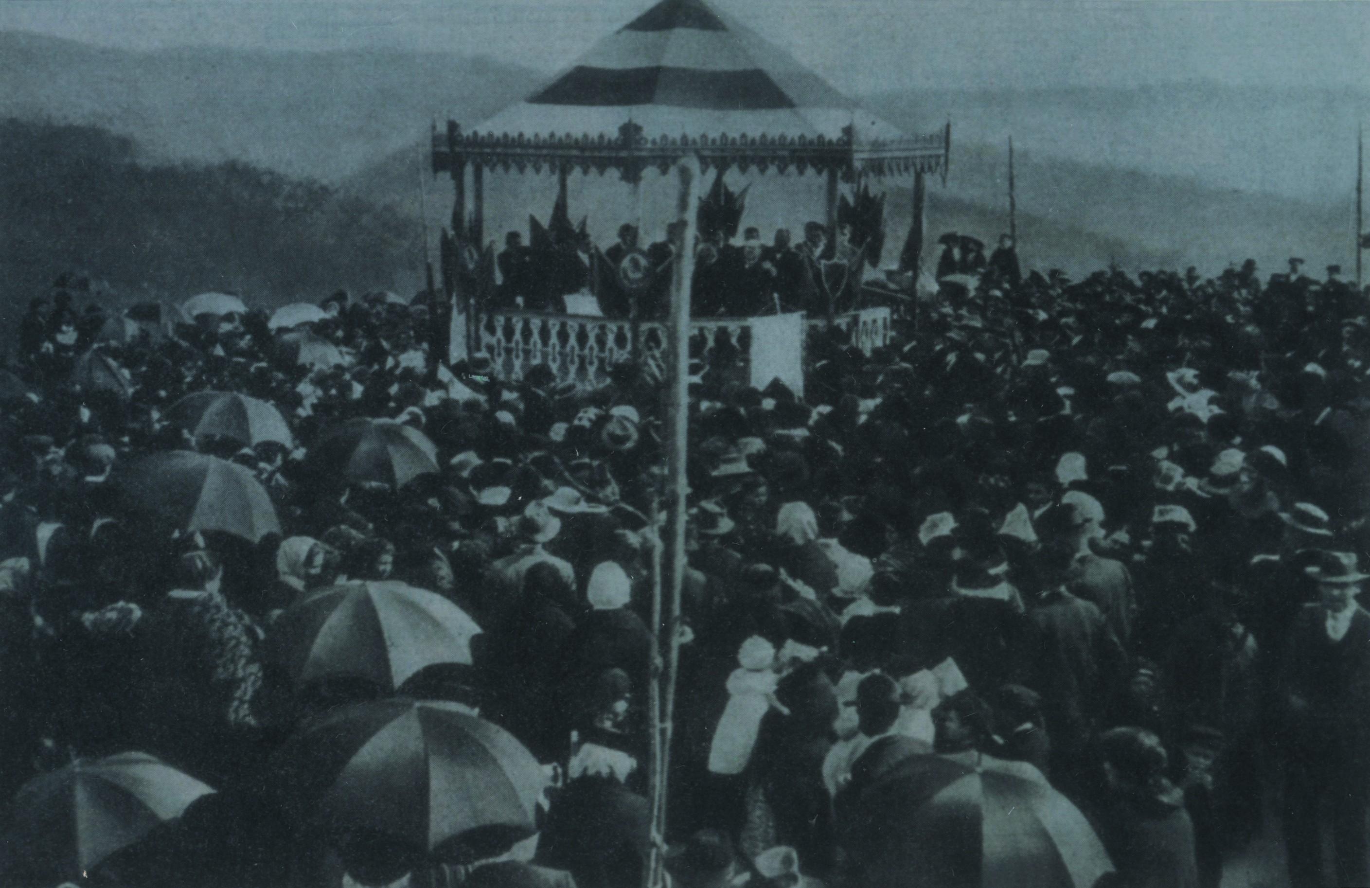 Festa da Árvore no Parque de La Salette (1913)