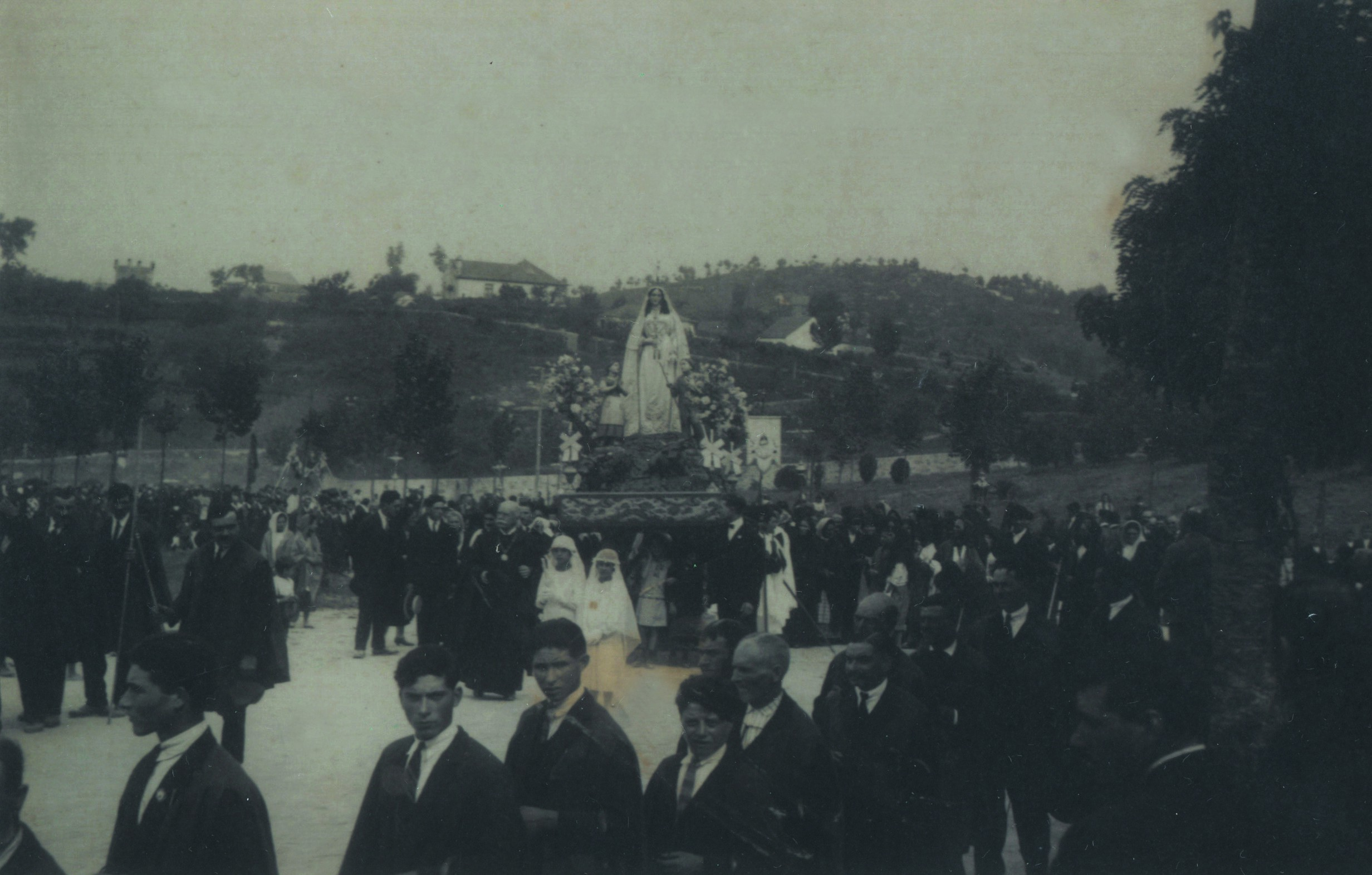 Parque de La Salette, procissão (1930)