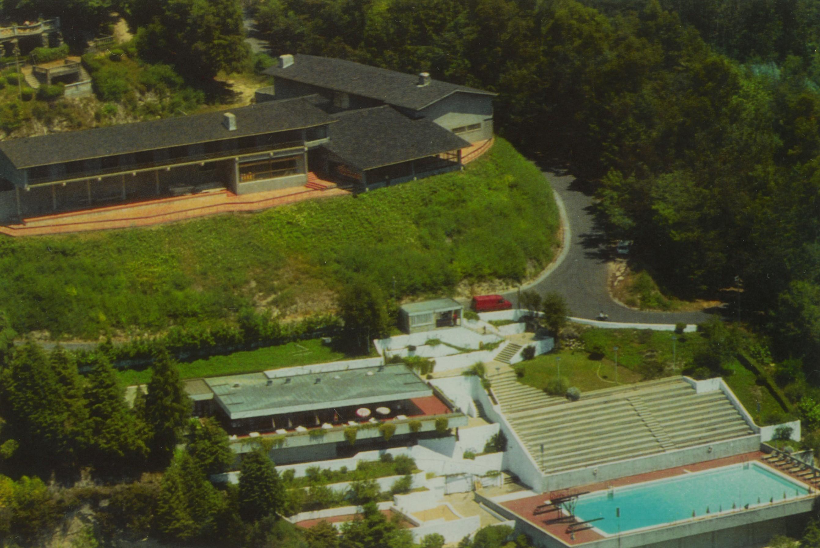 Estalagem S. Miguel e piscina (Anos 80)
