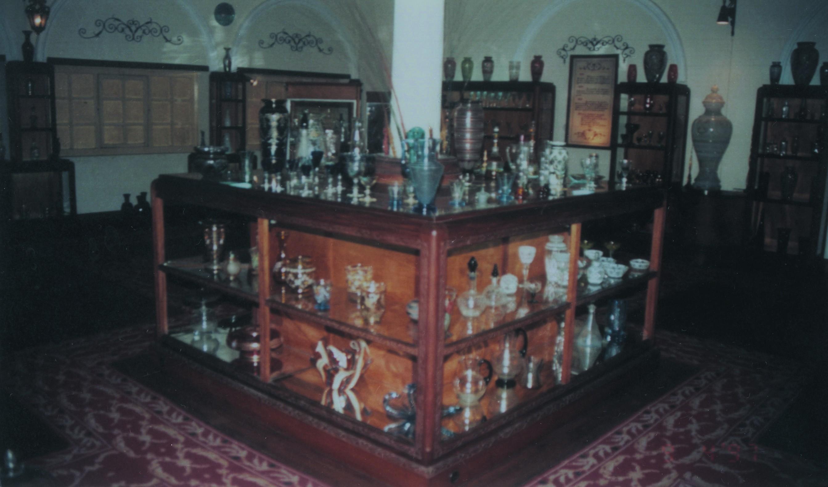 Museu do Vidro no Centro Vidreiro (1997)