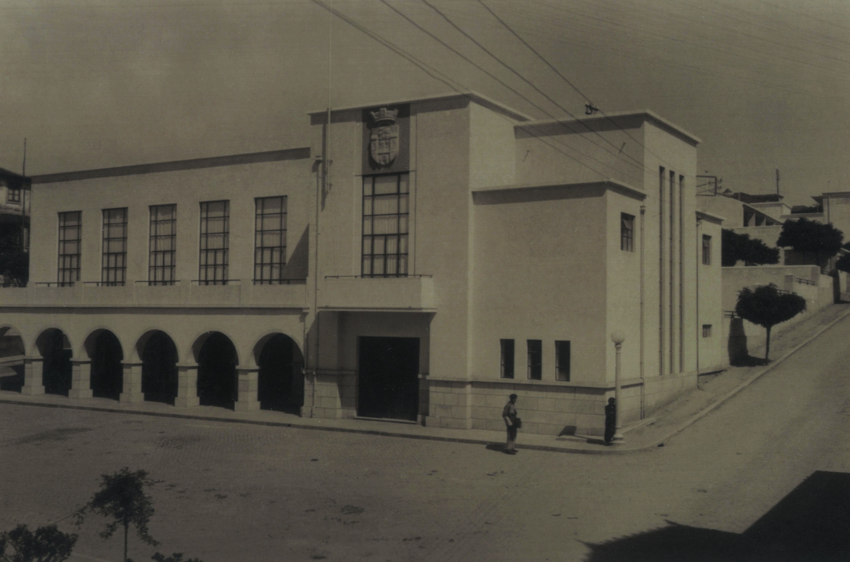 Inauguração do mercado e salão nobre (1938)