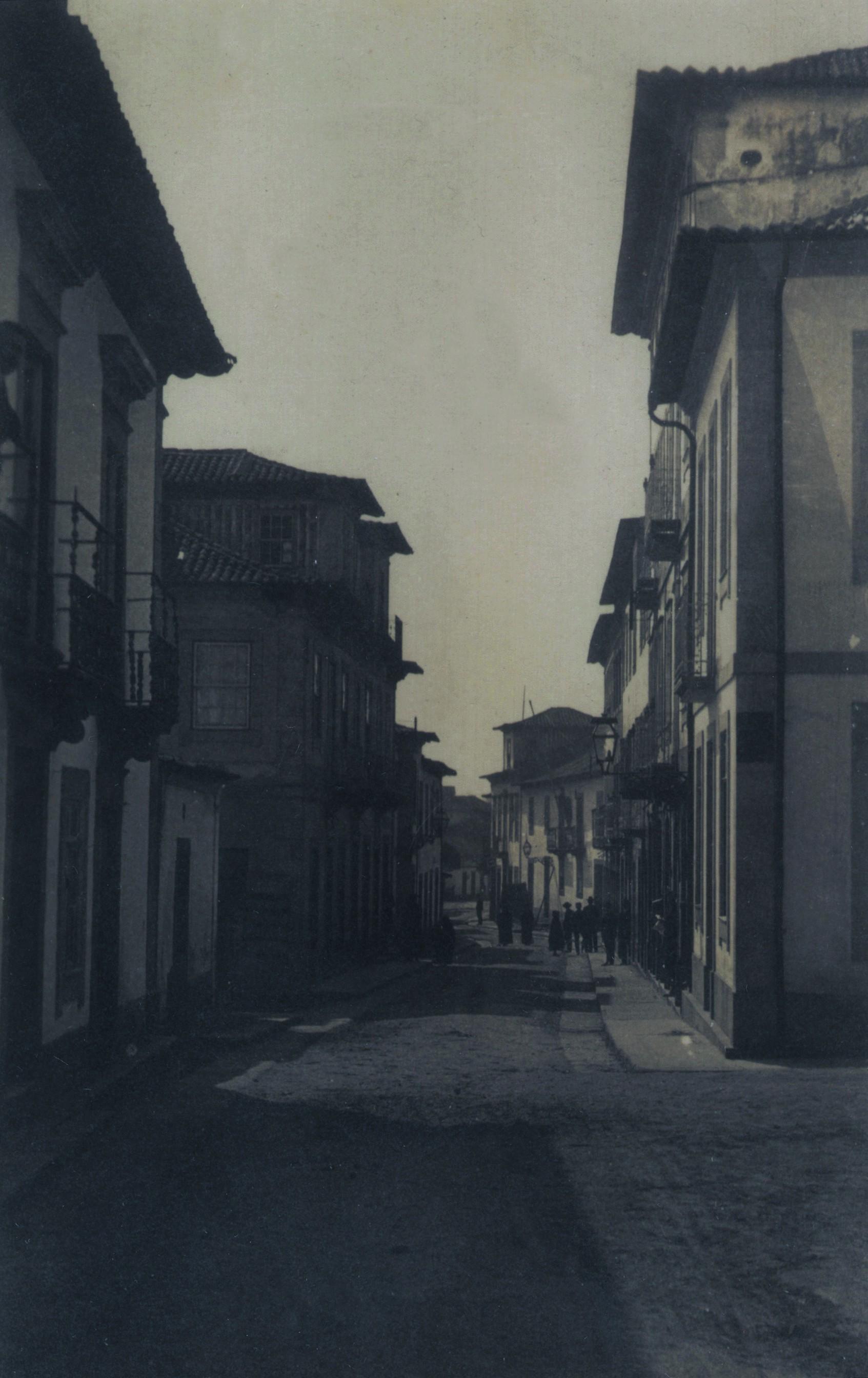 Rua Bento Carqueja no início do século XX