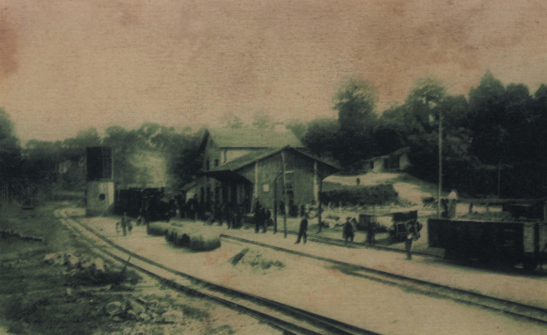 Estação dos caminhos de ferro (Anos 20)