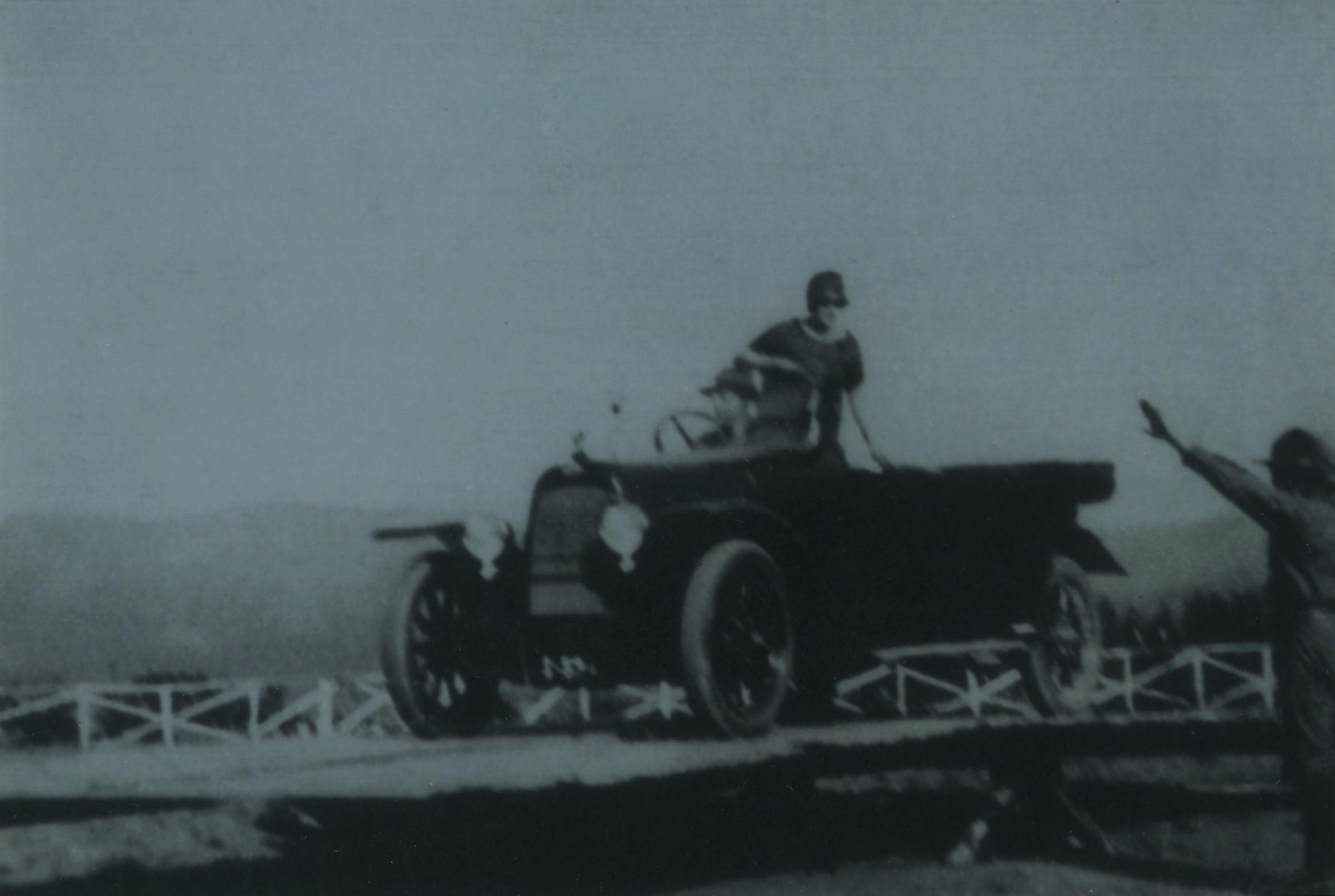 Gincana automóvel no campo da União Desportiva Oliveirense (1925)