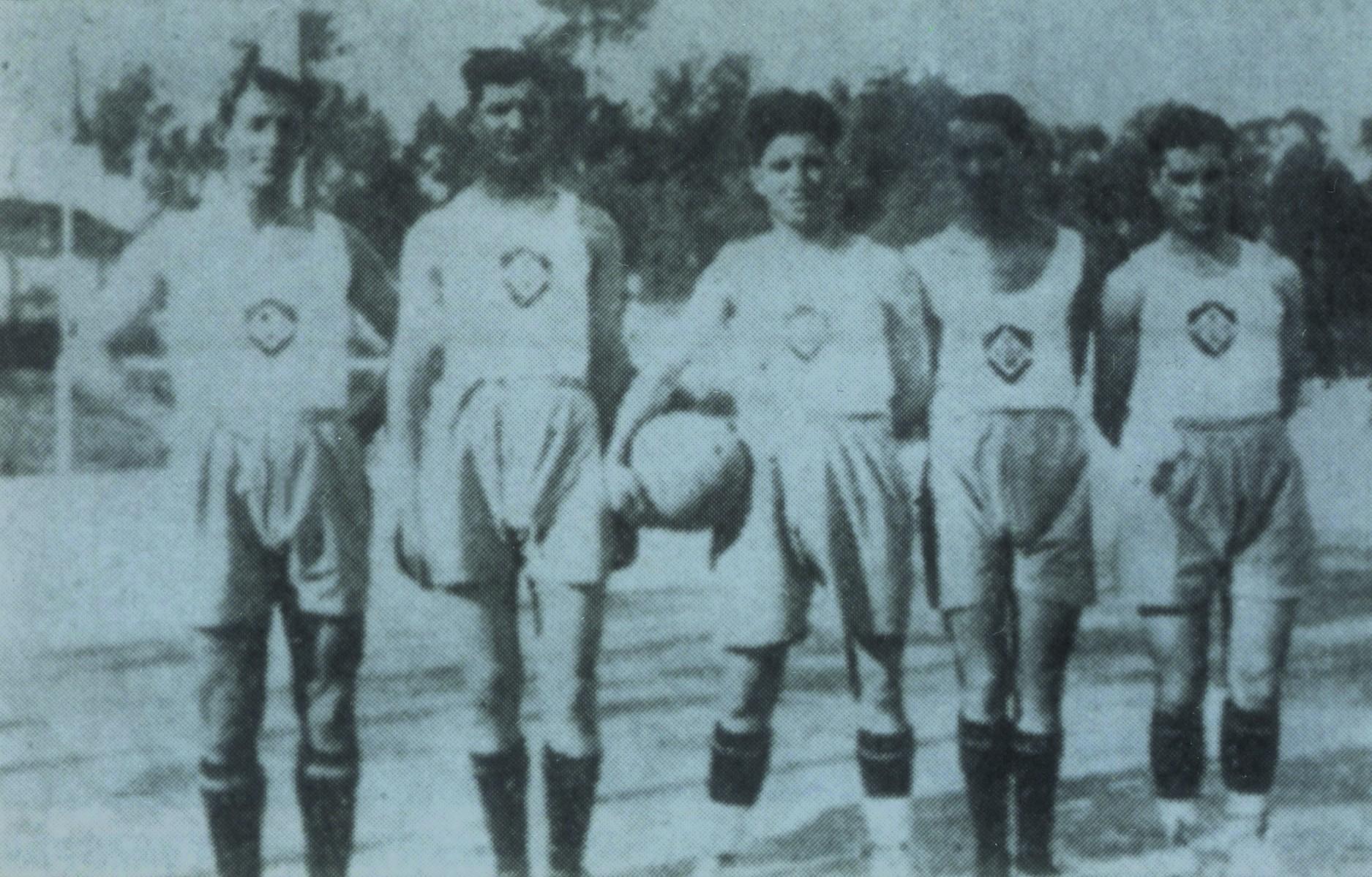 Primeira equipa de basquetebol da União Desportiva Oliveirense (Anos 30)