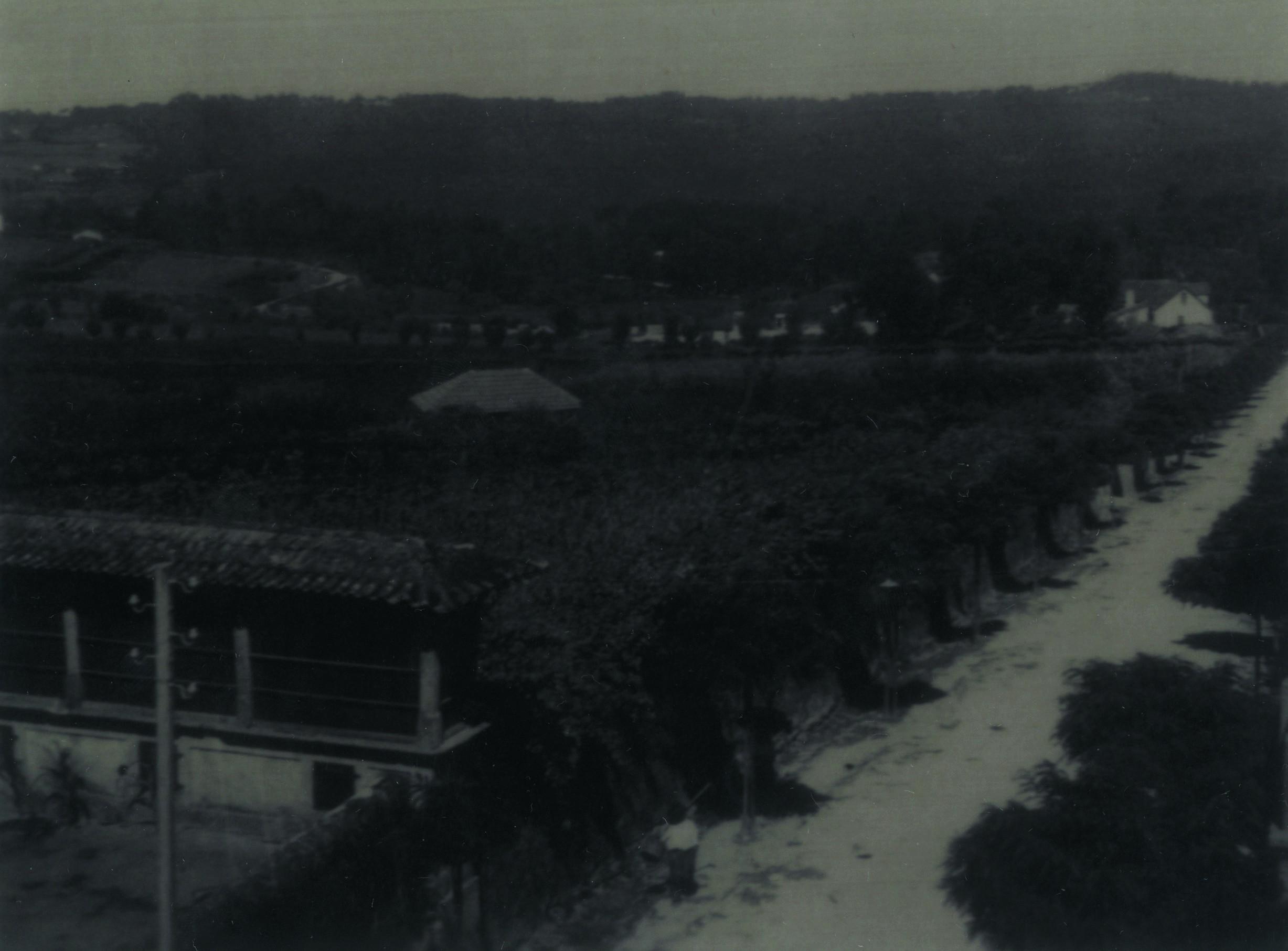 Vista da rua Dr. Manuel Arriaga (1940)