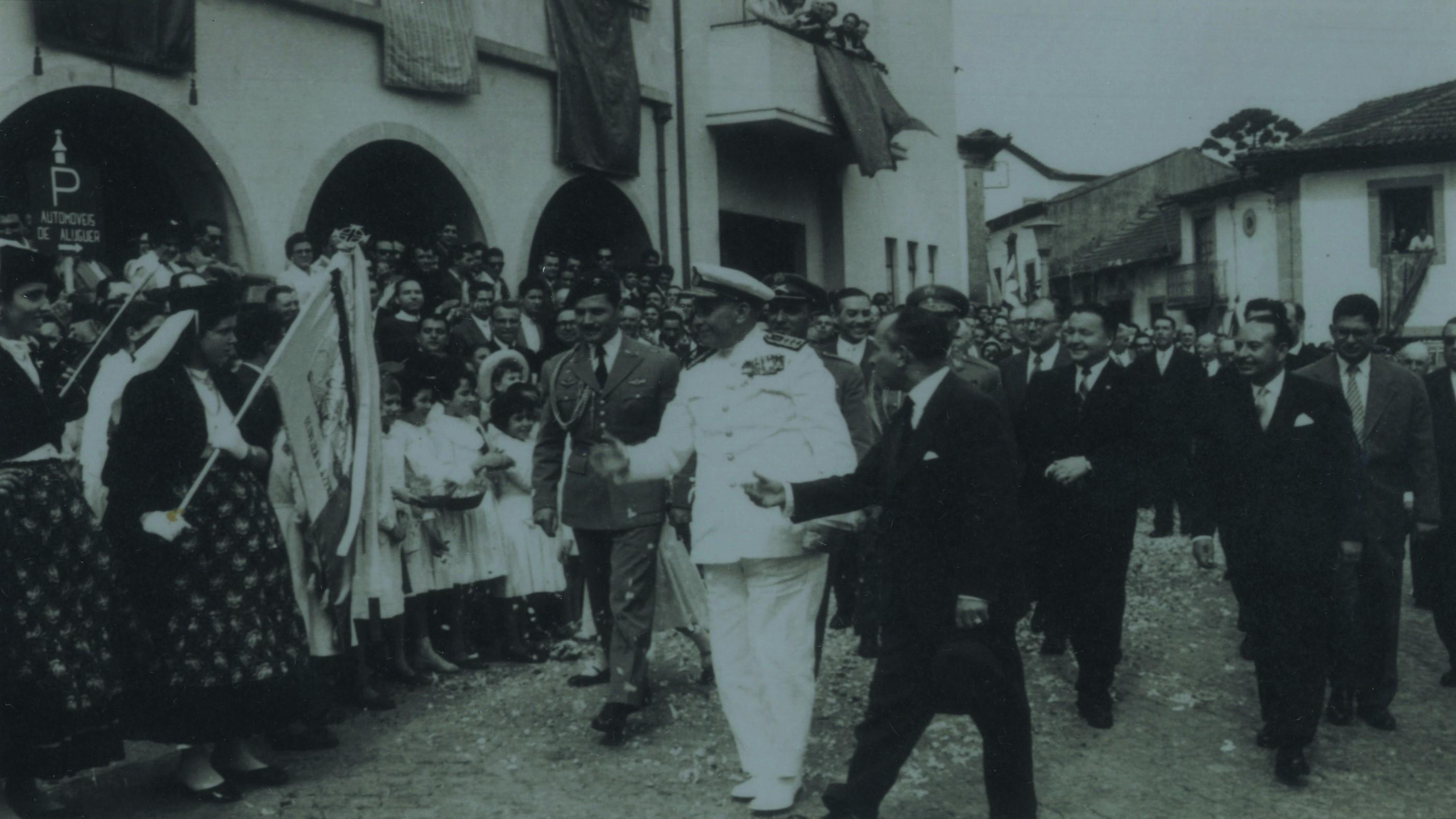 Visita do Presidente da República Almirante Américo Tomás (Finais dos anos 60)