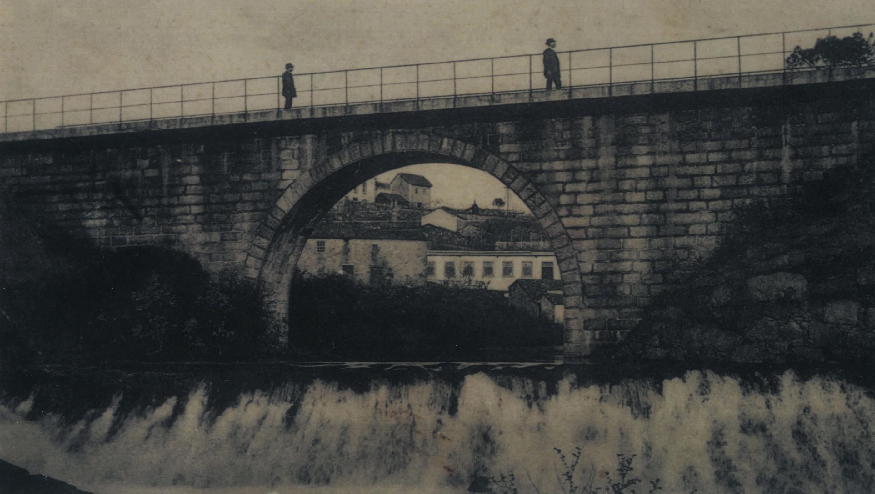 Ponte do caminho de ferro do Vale do Vouga, Cucujães (1916)