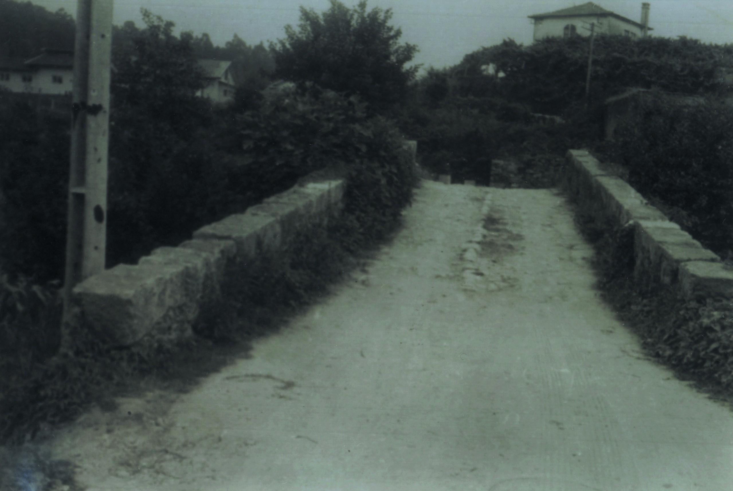 Ponte romana da Pica, Cucujães (Anos 70)