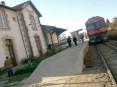 Estação de Oliveira de Azeméis da linha do Vale do Vouga