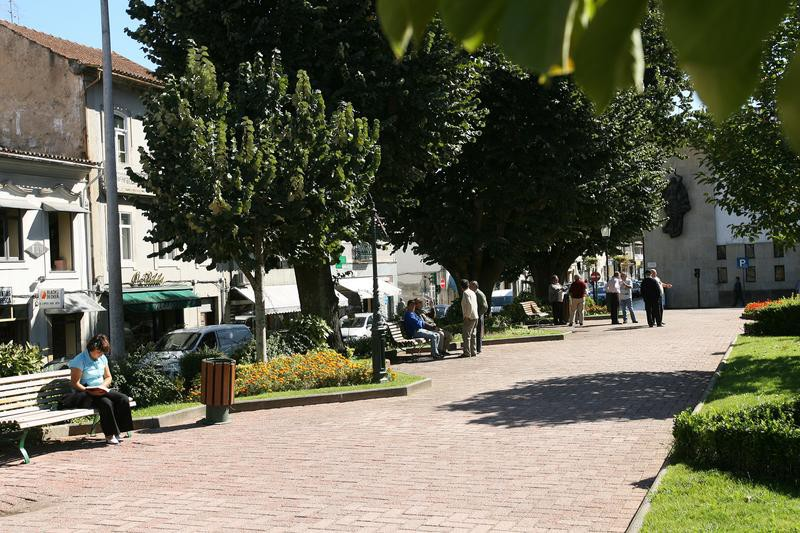 Jardim público de Oliveira de Azeméis
