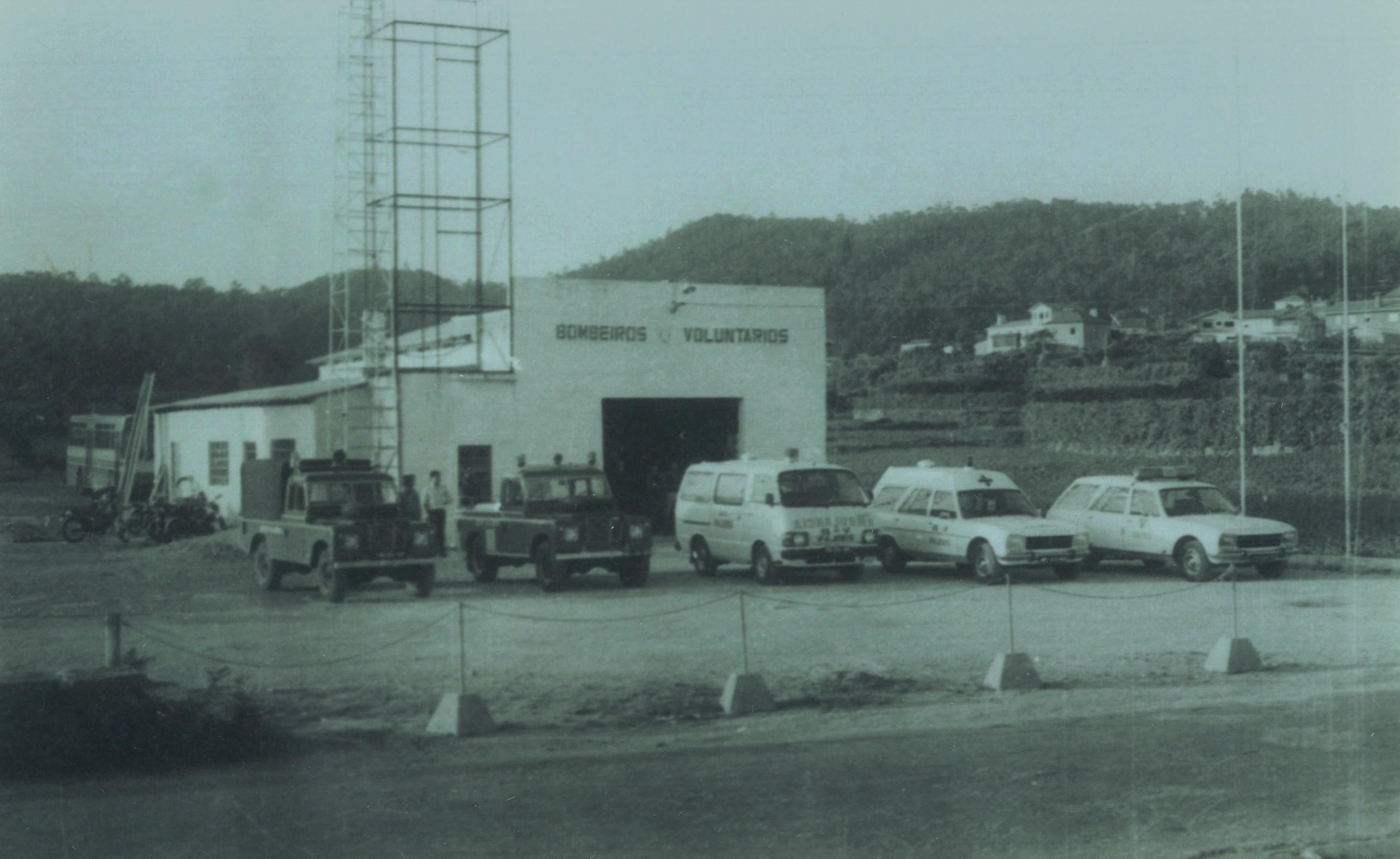 Quartel dos bombeiros voluntários de Fajões (Finais anos 70)
