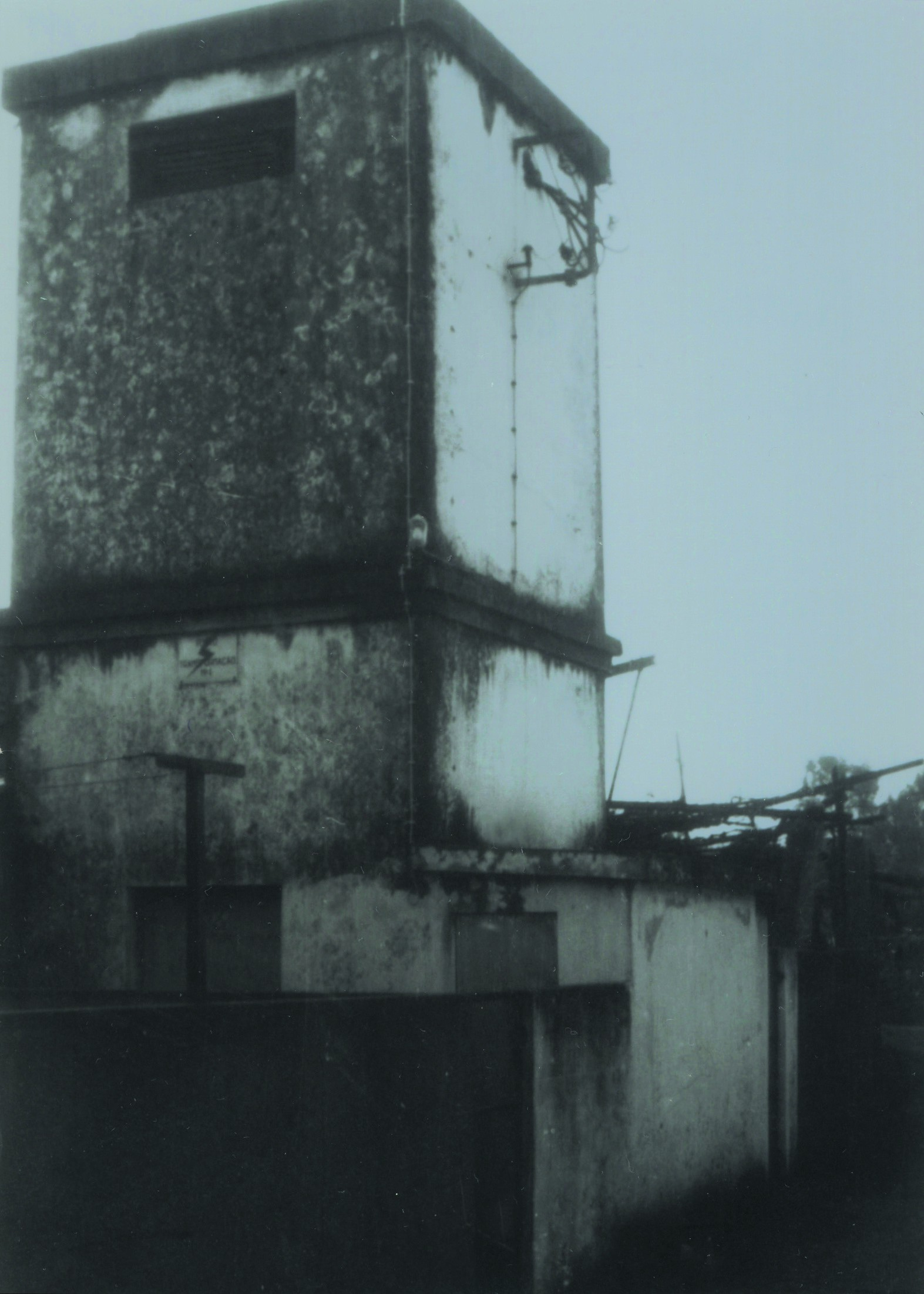 1º Gabinete Eléctrico da Cooperativa de Loureiro, construída nos anos 30 (Anos 60)
