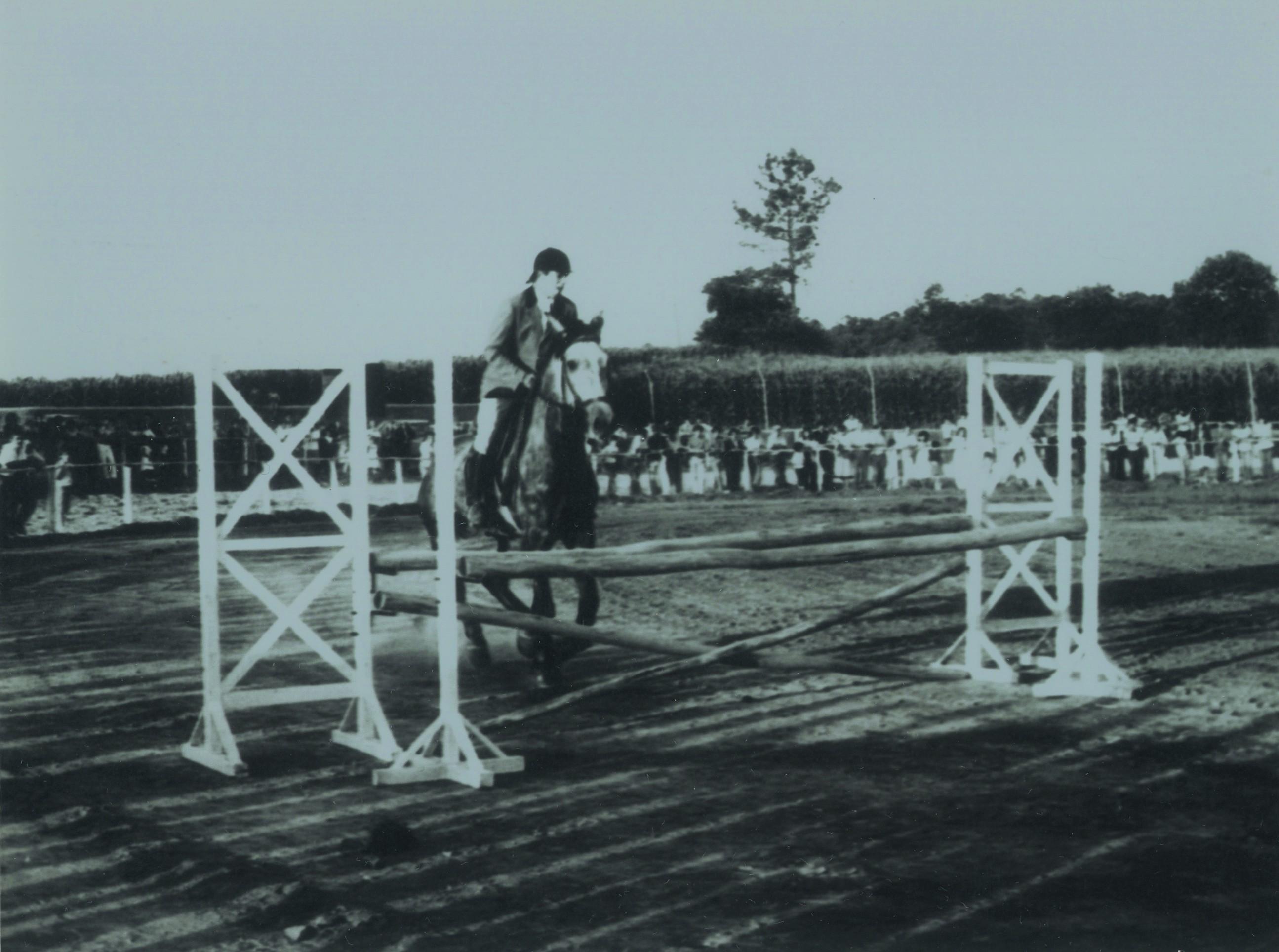 Concurso hípico na Quinta do Barão, Loureiro (Anos 80)