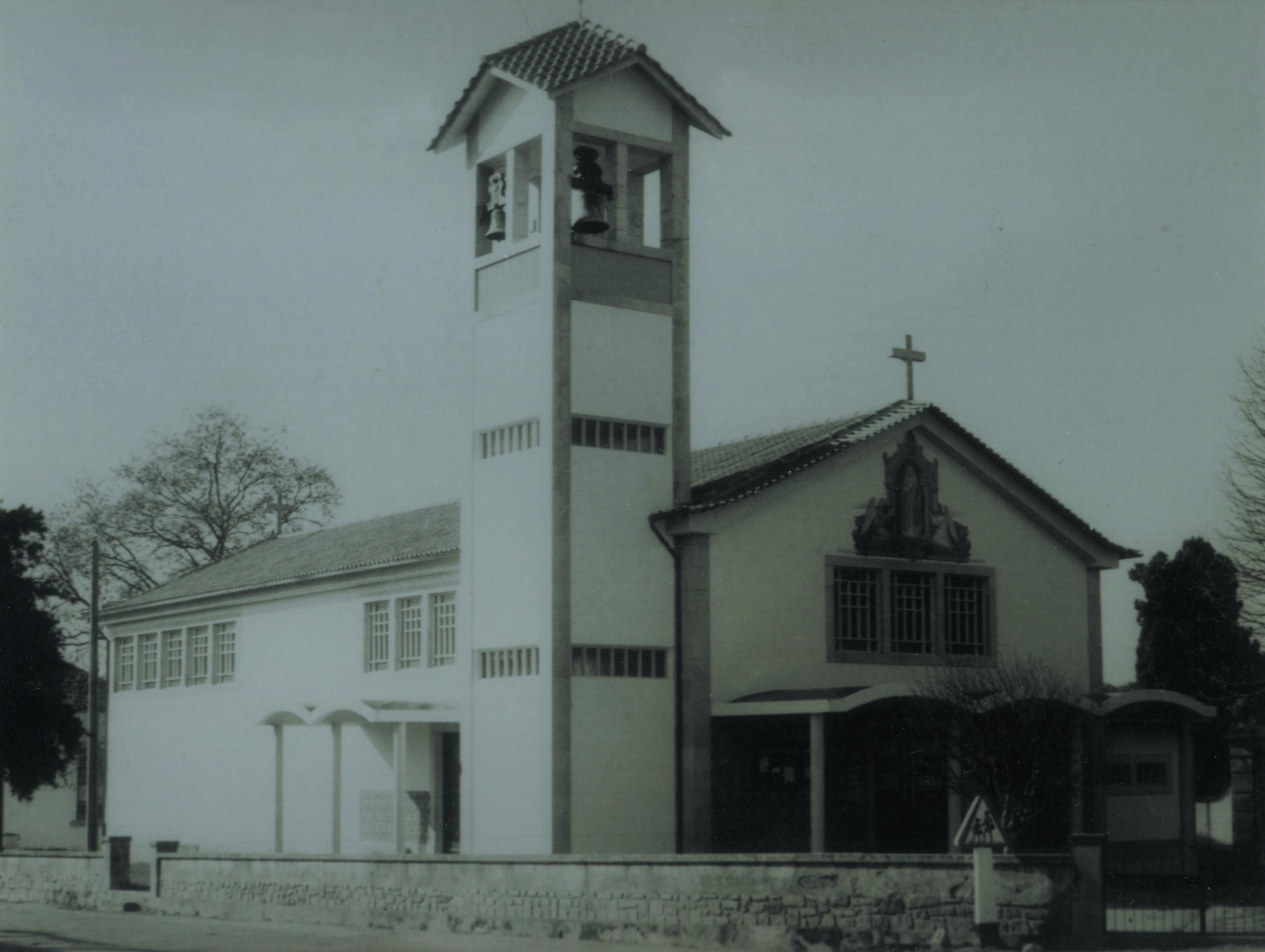 Igreja matriz, Macieira de Sarnes (Anos 80)