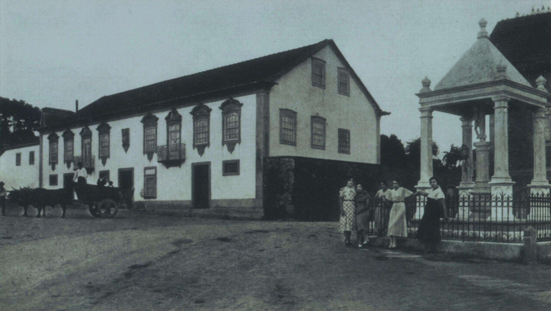 Largo do Cruzeiro, Pinheiro da Bemposta (Anos 50)