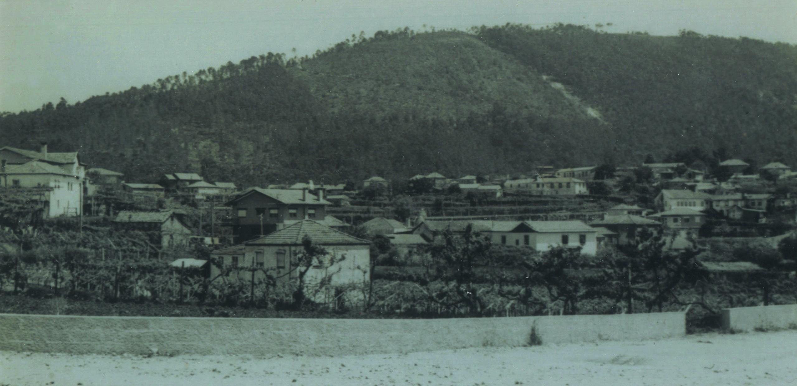 Vista panorâmica de Pindelo (Anos 70)
