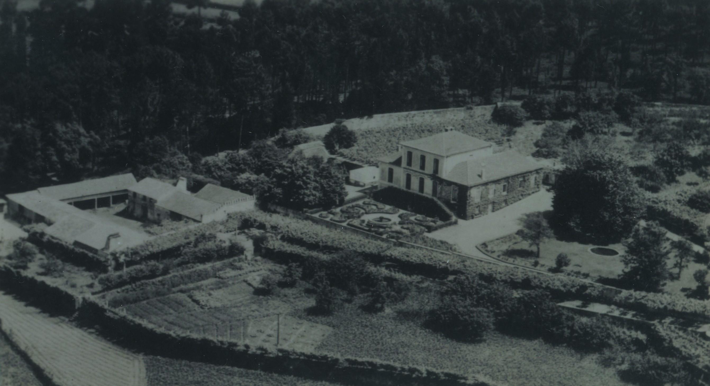 Vista da Quinta do Troncal, S. Martinho da Gândara (1954)