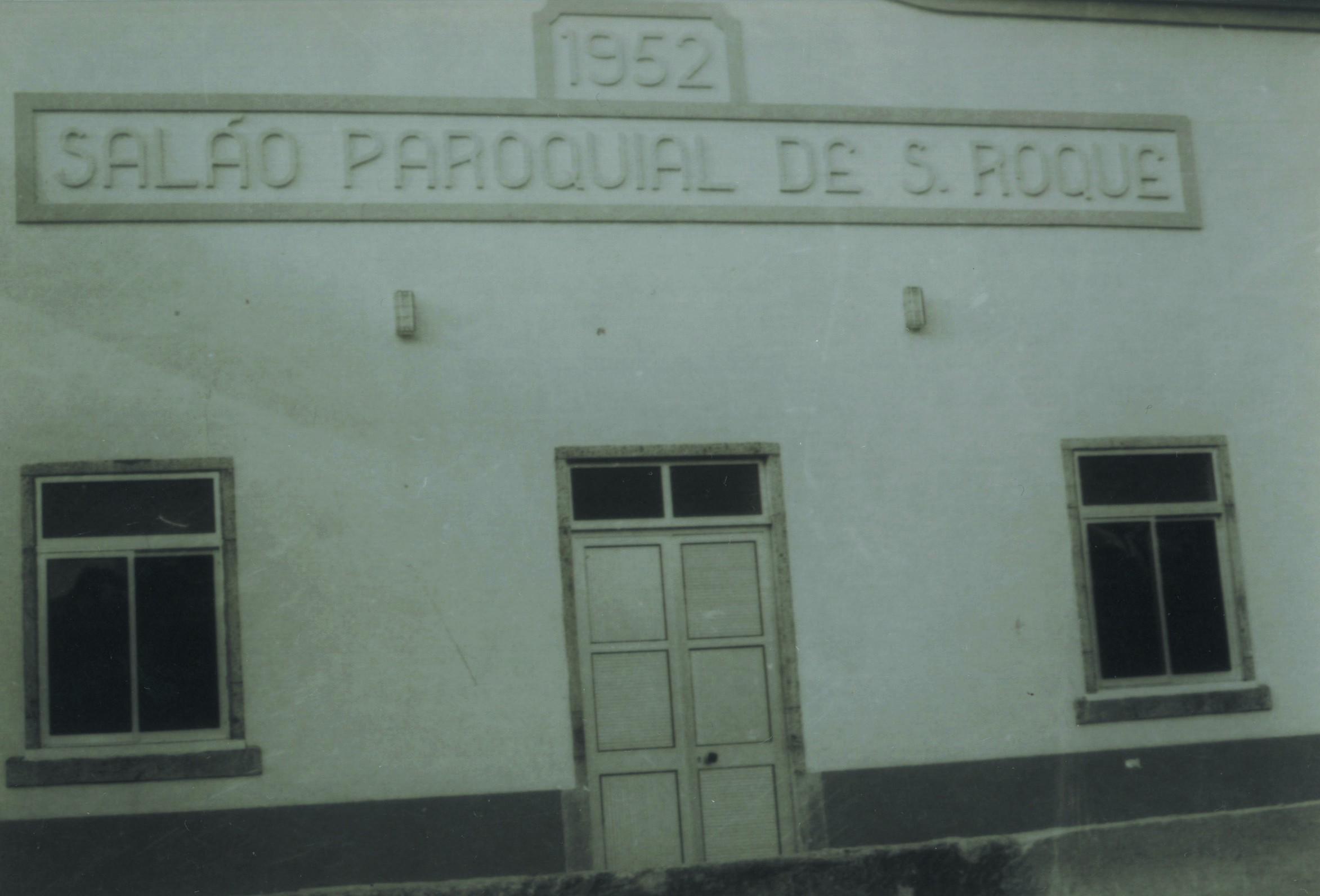 Salão paroquial de S. Roque (Anos 80)