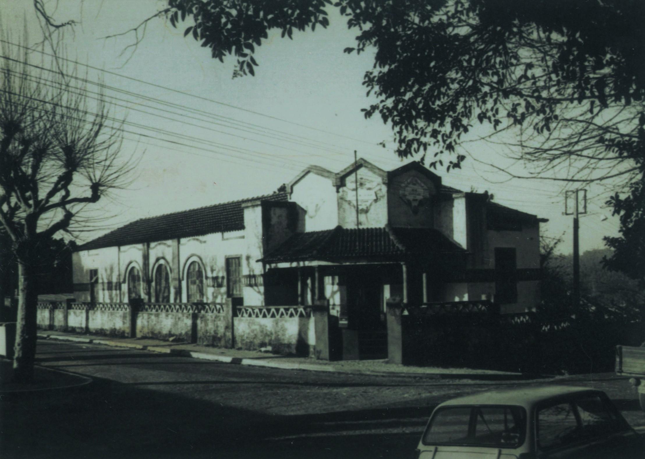 Antiga sede da junta de freguesia de Santiago de Riba-Ul (Anos 70)