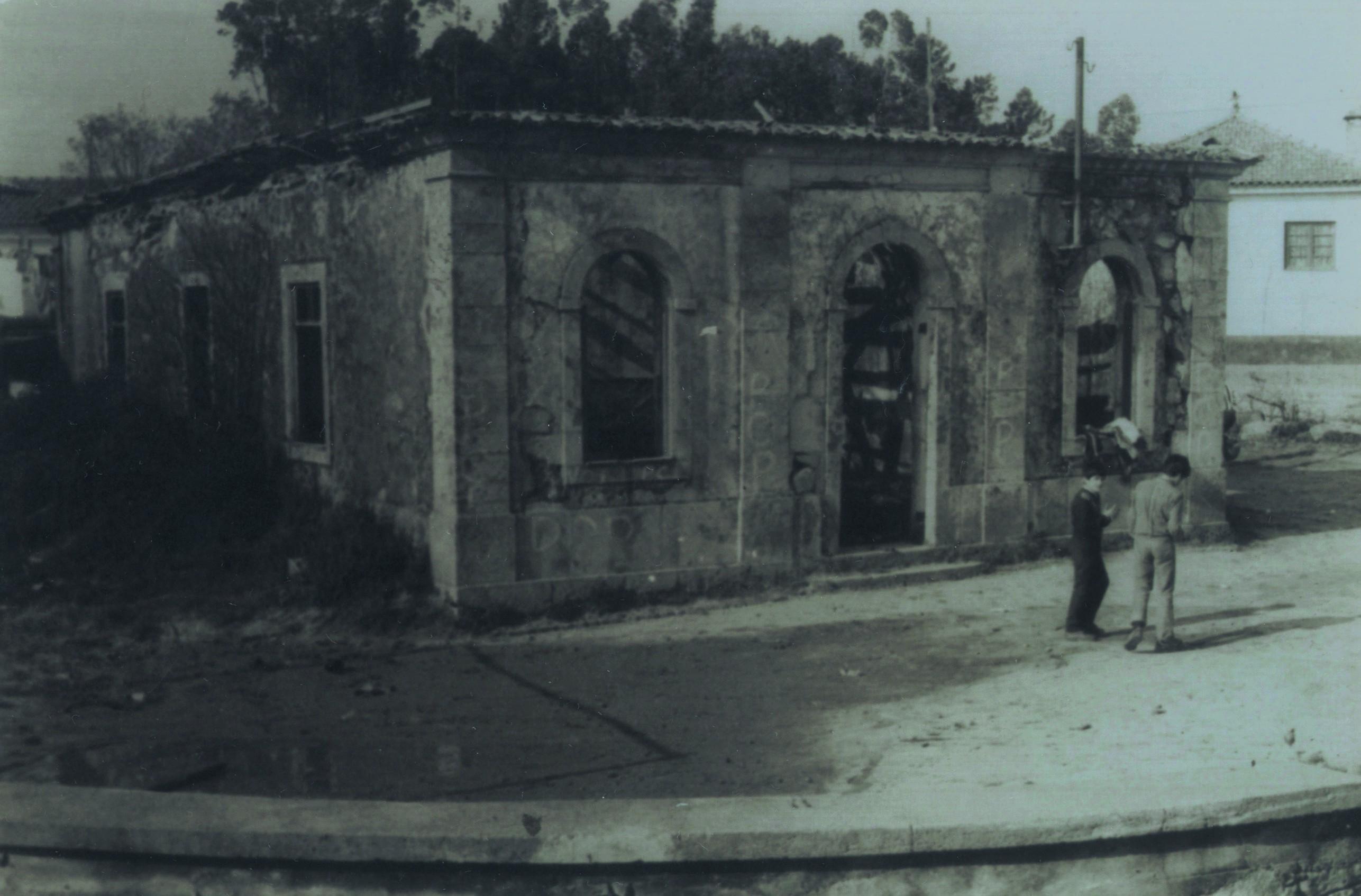 Antiga escola primária da Igreja, Santiago de Riba-Ul (Anos 80)