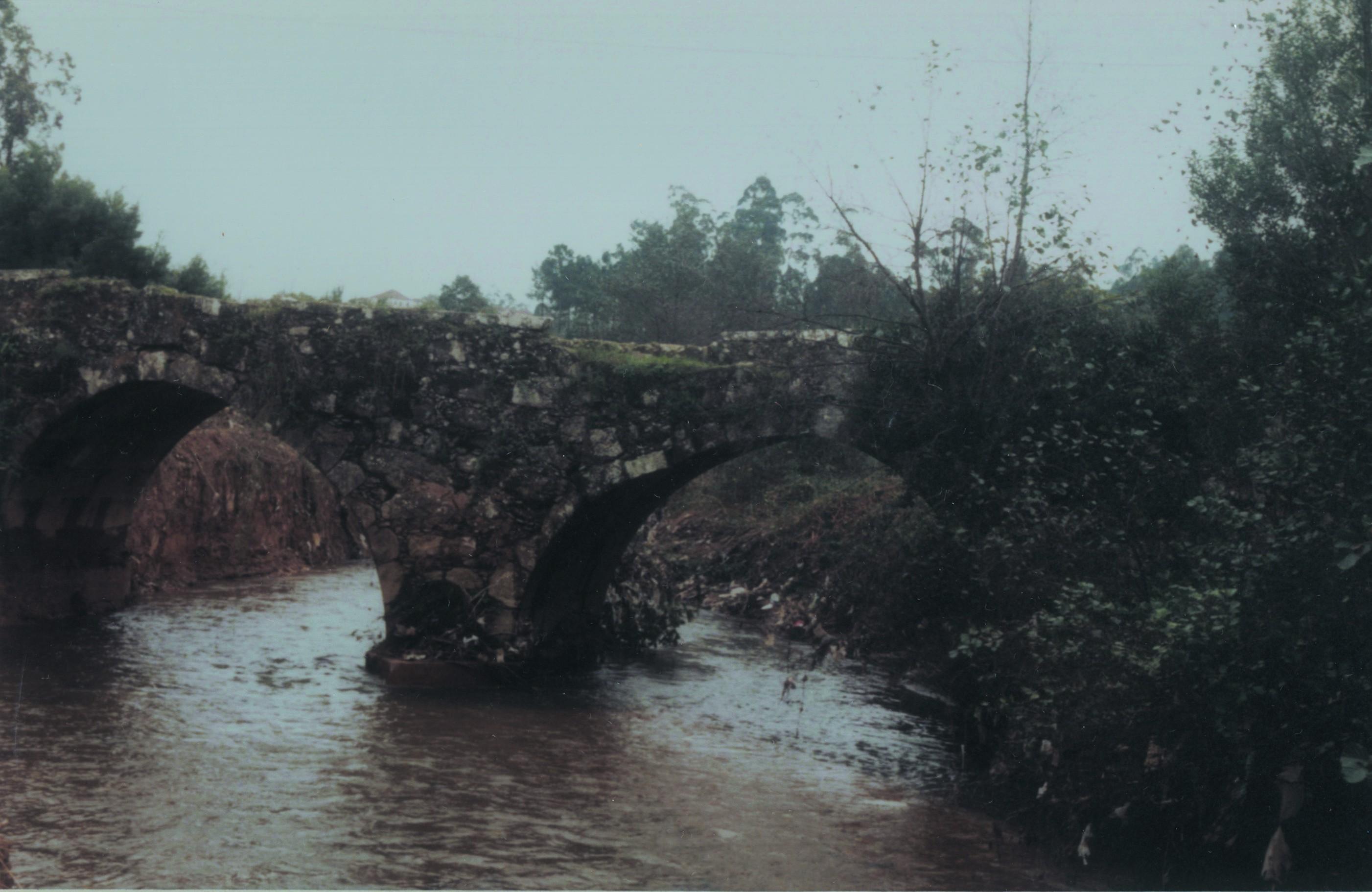 Ponte romana do Salgueiro, Santiago de Riba-Ul (Anos 90)
