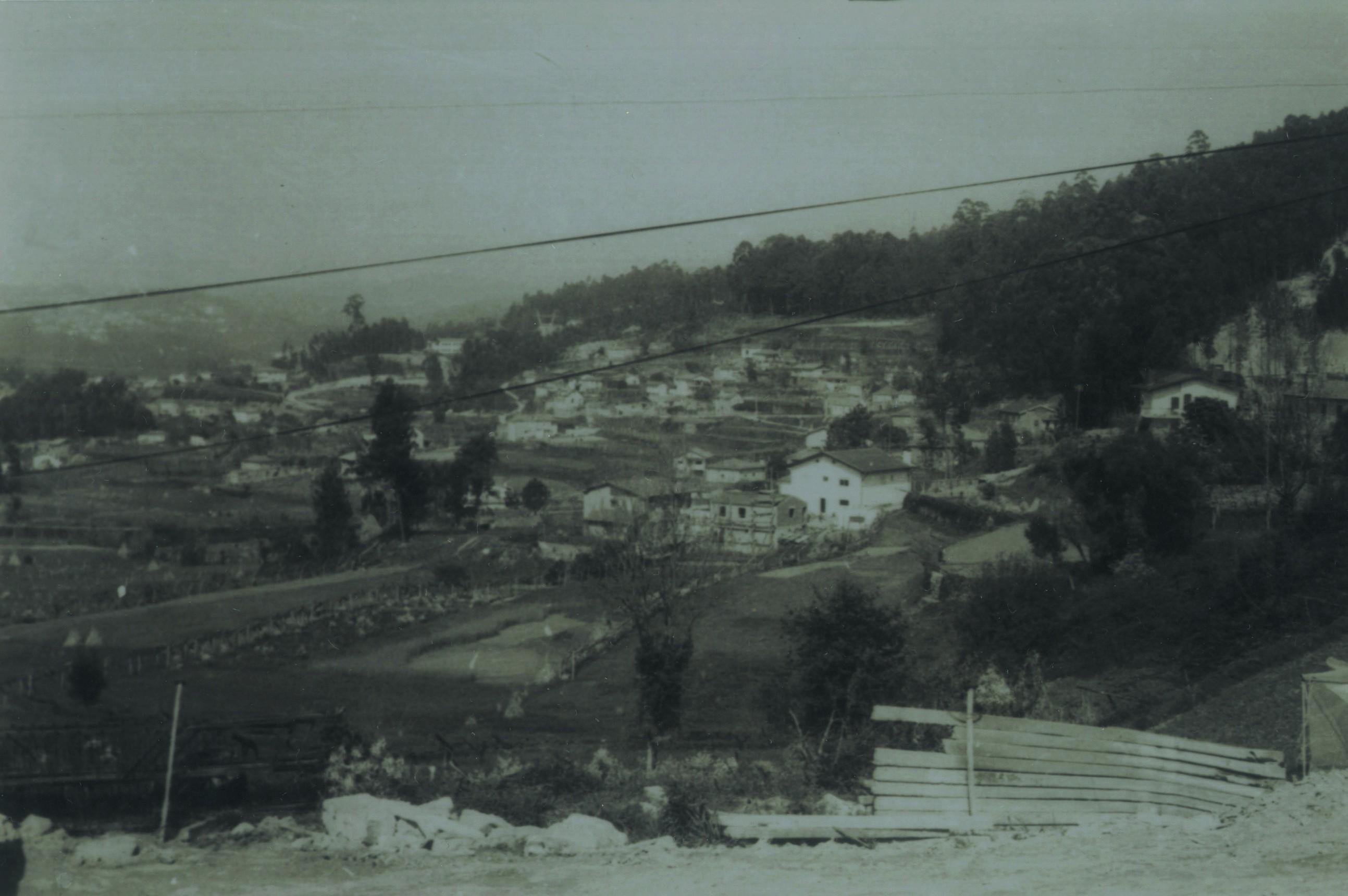 Vista panorâmica de Travanca (Anos 80)