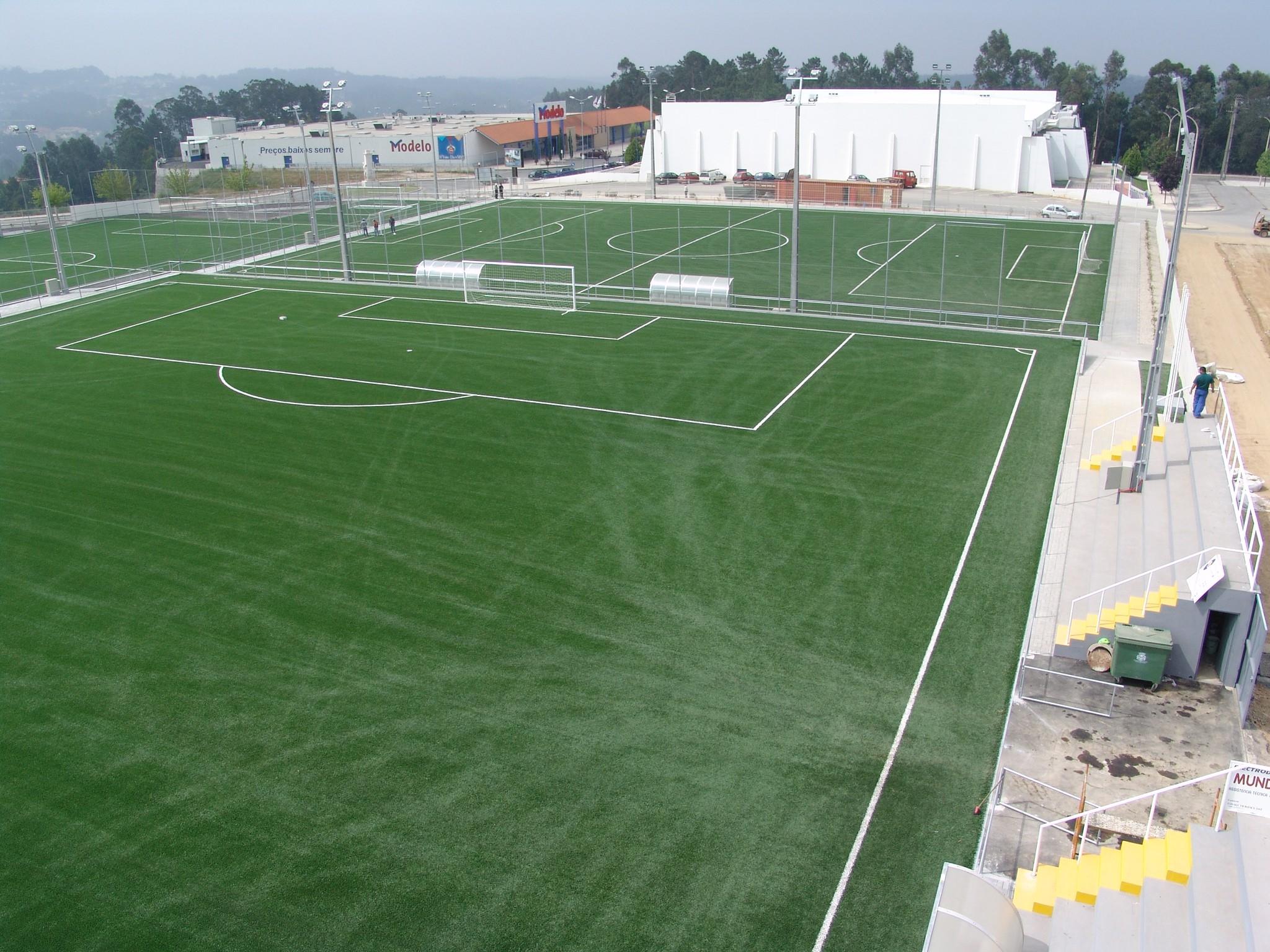 Relvados sintéticos da União Desportiva Oliveirense