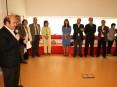 Cerimónia do primeiro aniversário do Centro Lúdico