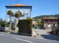 Casa Azul, na freguesia de Cesar, onde funciona o Centro de Acolhimento Temporário no âmbito do projecto «Solis»