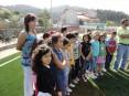 Visita à escola EB1 do Outeiro, em Travanca