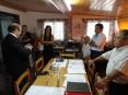 Visita à Filarmónica Cucujanense