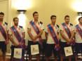 Equipa da União Desportiva Oliveirense que se sagrou campeã nacional