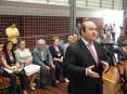 Hermínio Loureiro, presidente da autarquia, reafirmou a aposta do executivo em apoiar os que menos têm e os que mais precisam