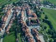 Vista panorâmica da vila de Romont