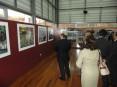 Exposição está patente no ginásio do pavilhão municipal