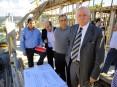 Dirigentes, autarcas e técnicos conhecerem em pormenor o projecto do novo quartel dos bombeiros voluntários de Oliveira de Azeméis