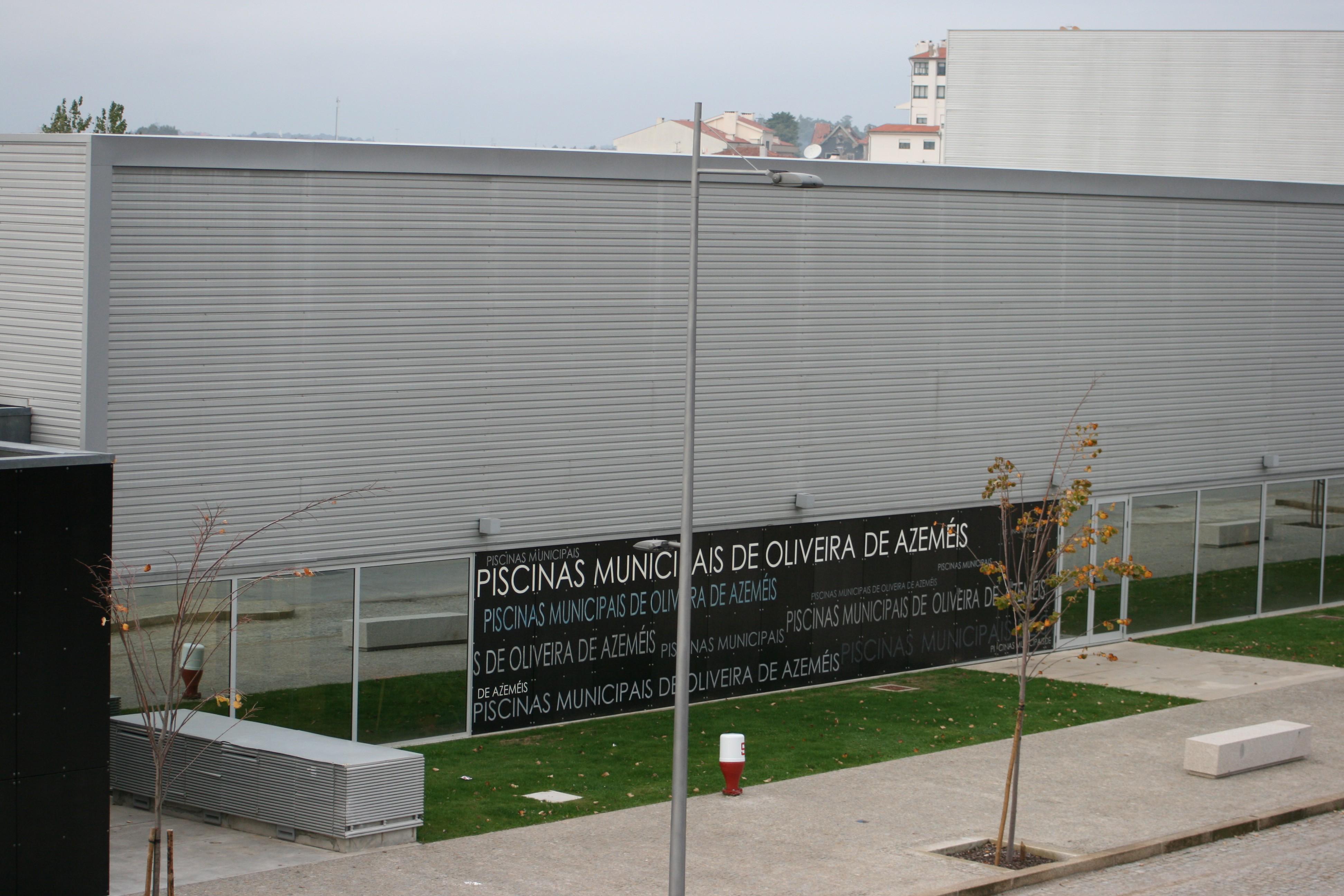 Piscinas municipais de Oliveira de Azeméis