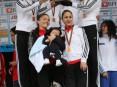 Colectivamente o primeiro lugar do pódio feminino foi conquistado pela equipa do Maratona Clube de Portugal