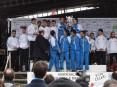 Colectivamente o pódio masculino foi conquistado pelas equipas do G.D.R. Conforlimpa (1º lugar), Maratona Clube de Portugal (2º lugar) e Maia Atlético Clube (3º lugar)