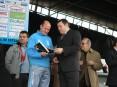 Homenagem a Alírio Oliveira, técnico responsável pela secção de atletismo da Villa Cesari