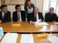 Assinatura do contrato da parceria público-privada no âmbito do PERM - Parque Empresarial de Recuperação de Materiais das Terras de Santa Maria