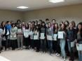 Alunos diplomados do Centro de Línguas de Oliveira de Azeméis