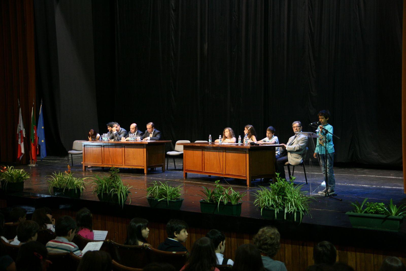 Sessão municipal «Políticos de Palmo e Meio»