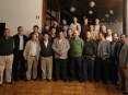 Elementos que compõem a Comissão de Festas de La Salette 2012