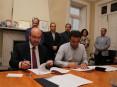 Assinatura do contrato-programa com Associação do Parque Temático Molinológico