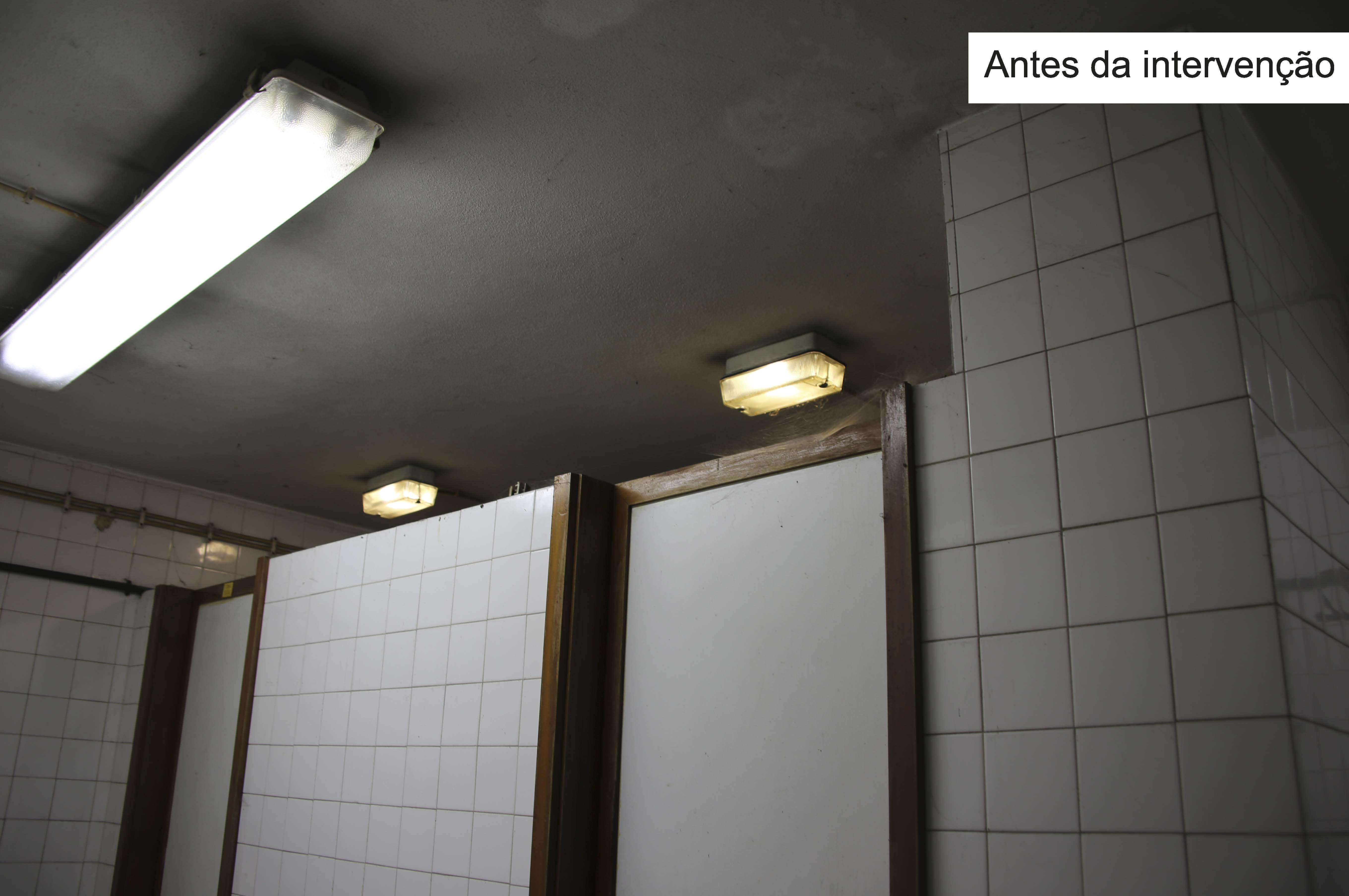 Estado dos sanitários anterior às obras